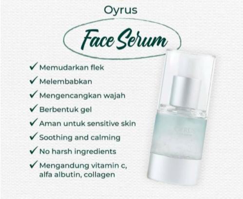 oyrus face serum