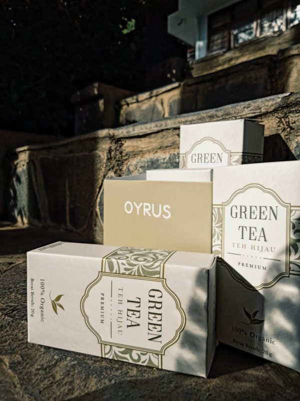oyrus green tea