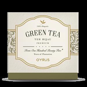 oyrus green tea
