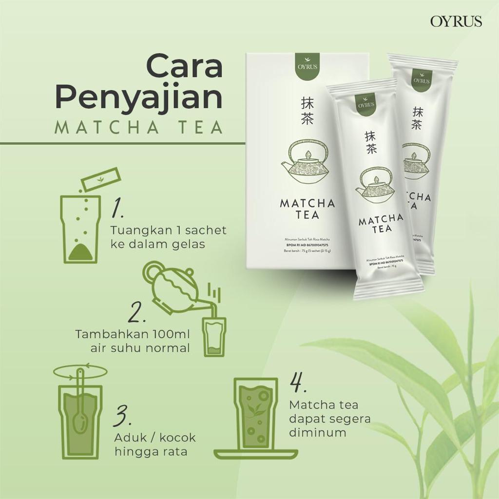 Oyrus Matcha Tea