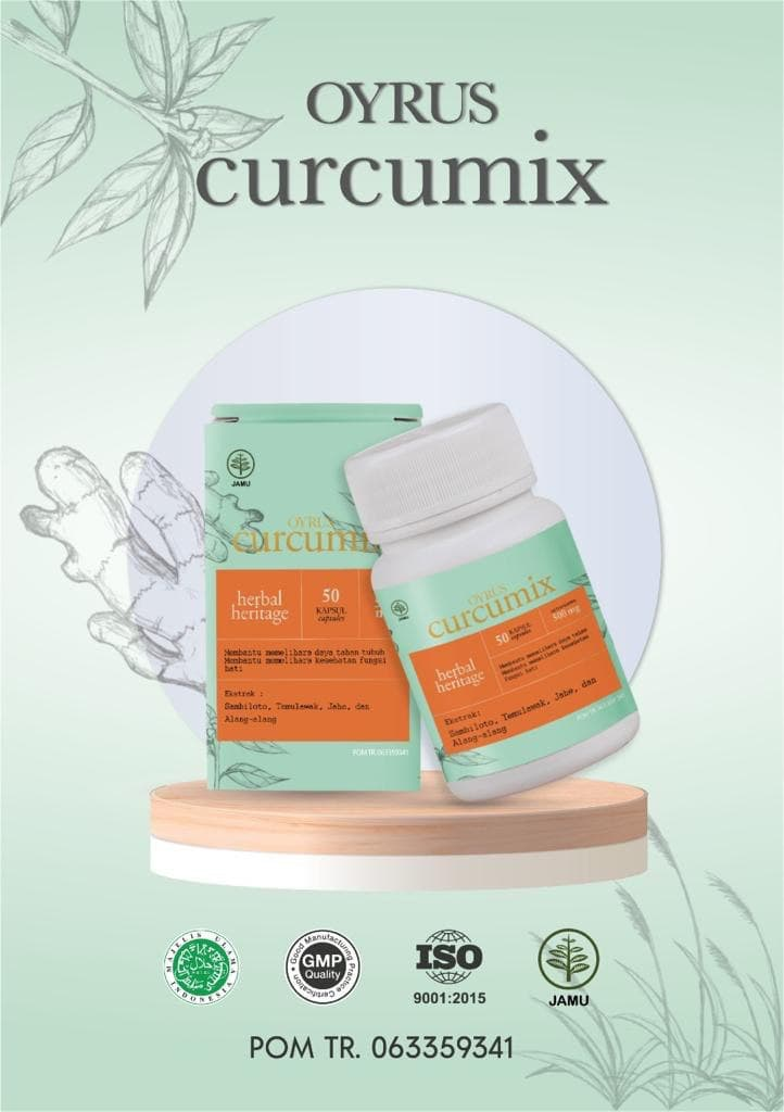 Oyrus Curcumix Obat Covid