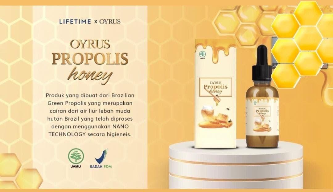 Oyrus Propolis Honey Madu